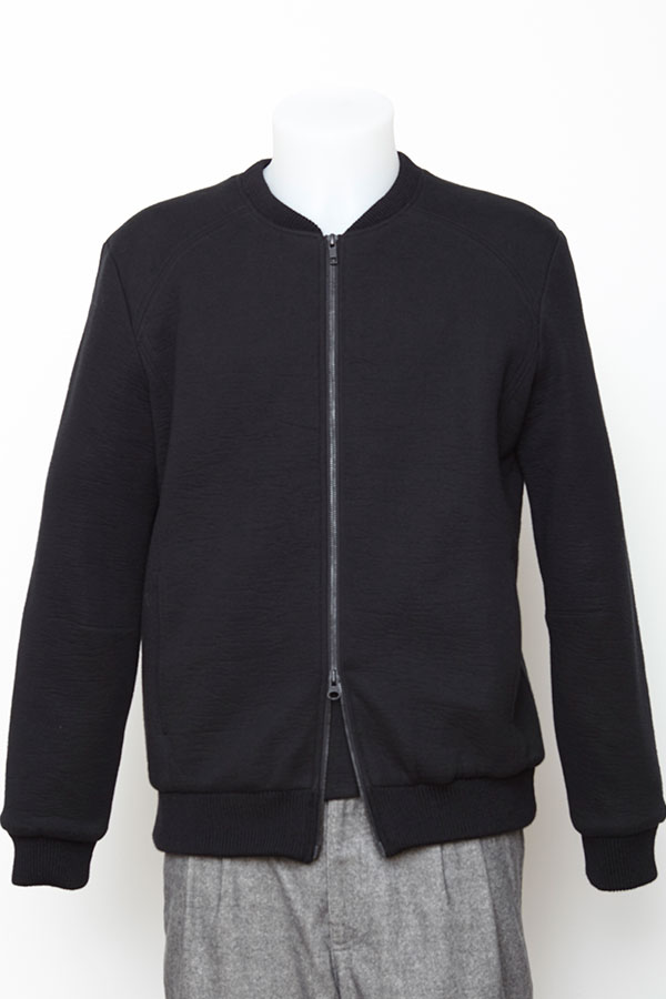 menswear luxury sweat vest black