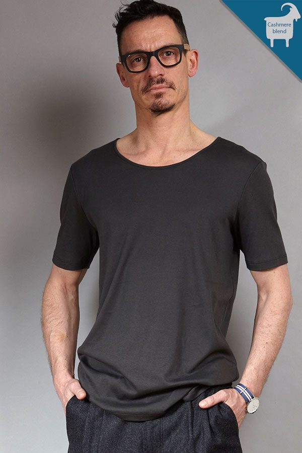 Luxurious Cashmere-blend Tee | Sustainable menswear